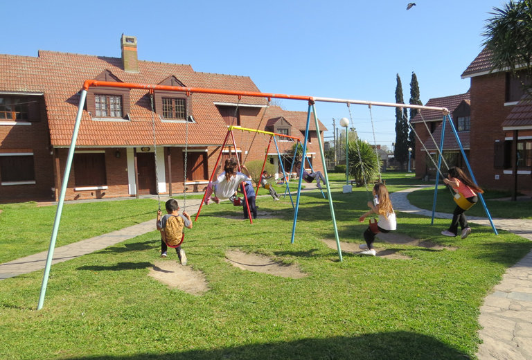 A home for 54 children in Mar del Plata, Argentina