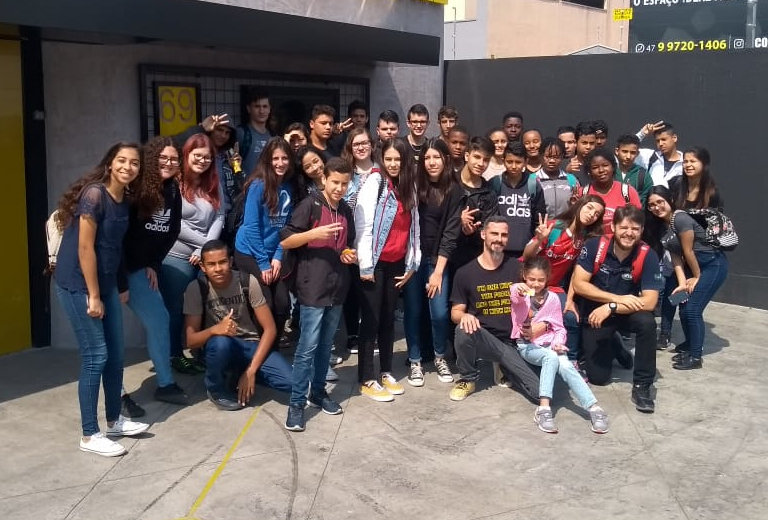 60 young people prepare for life in Brazil