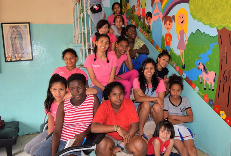 Fundación Sor Dominga Bocca cares for abused girls in Guayaquil