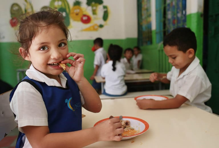 Educational and nutritional care for children from the Soyapango and Mejicanos municipalities in El Salvador