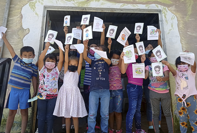 Constructing spaces for peace for children in El Salvador