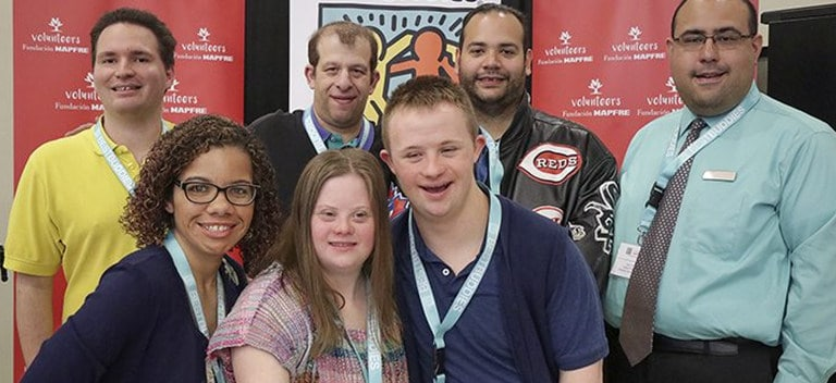 Best Buddies offers support and training to facilitate their incorporation into the labor market