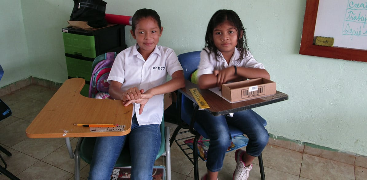 The Panamanian Pro-Childhood Association offers a development opportunity to the children of the Ngäbe Bugle region