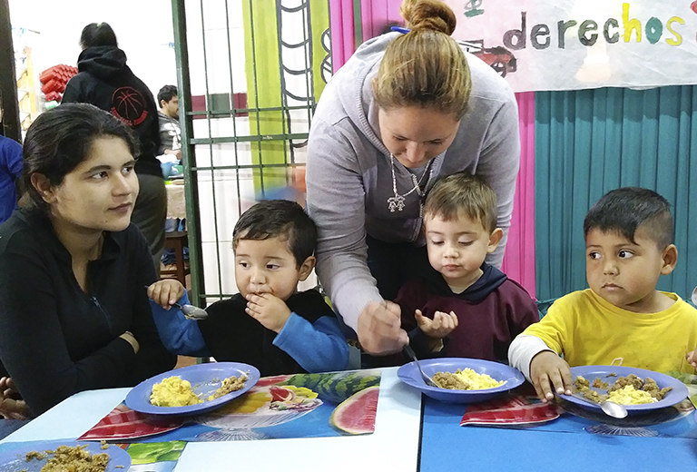 Fundación ALDA provides educational and nutritional support to 150 vulnerable children