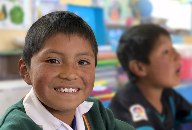 High quality education in villages in the Peruvian sierra