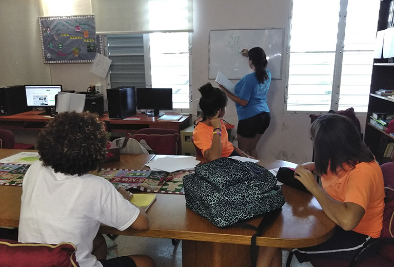 Hogares Teresa Toda offers comprehensive education to girls and young people in Puerto Rico
