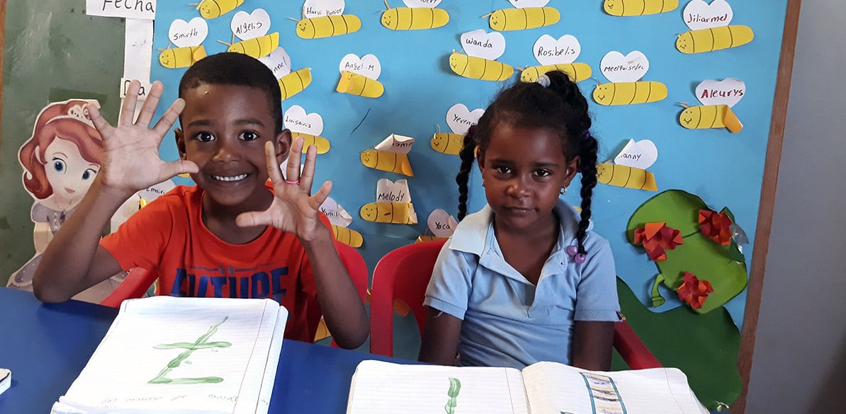 Asociación Nuevos Caminos provides educational support to children and young people from Sabana Yegua in the Dominican Republic
