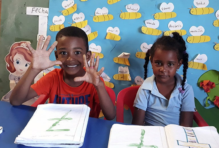 Providing an education to help 206 children in the Dominican Republican go far in life