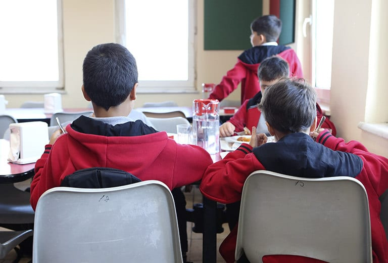 A good quality education for underprivileged children in Turkey
