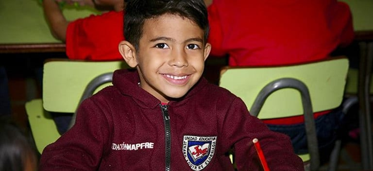 At the Madre María Luisa Casar Foundation they are well aware that growing up healthily improves academic performance