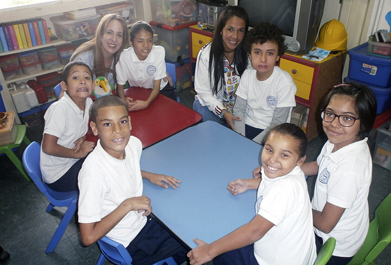 The Dugarbín Special Education Center offers personalized education to children without resources
