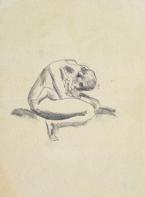 La mano con lápiz. Dibujos del siglo XX.