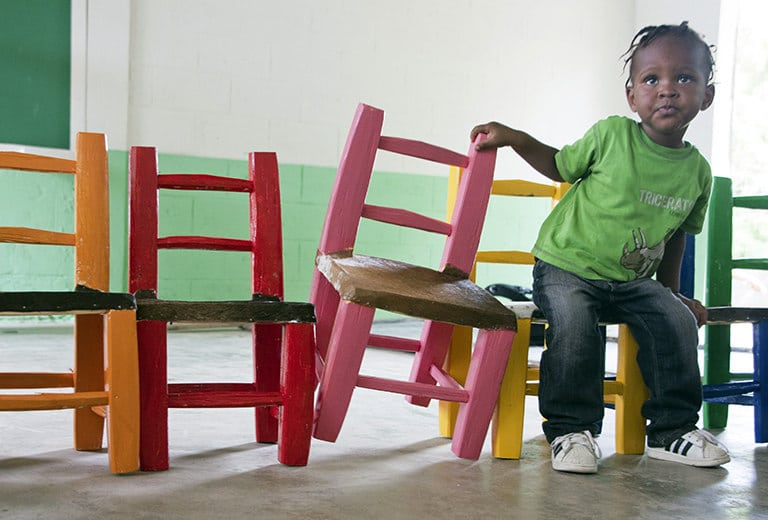 Teachers in the Dominican Republic learn to teach children with disabilities
