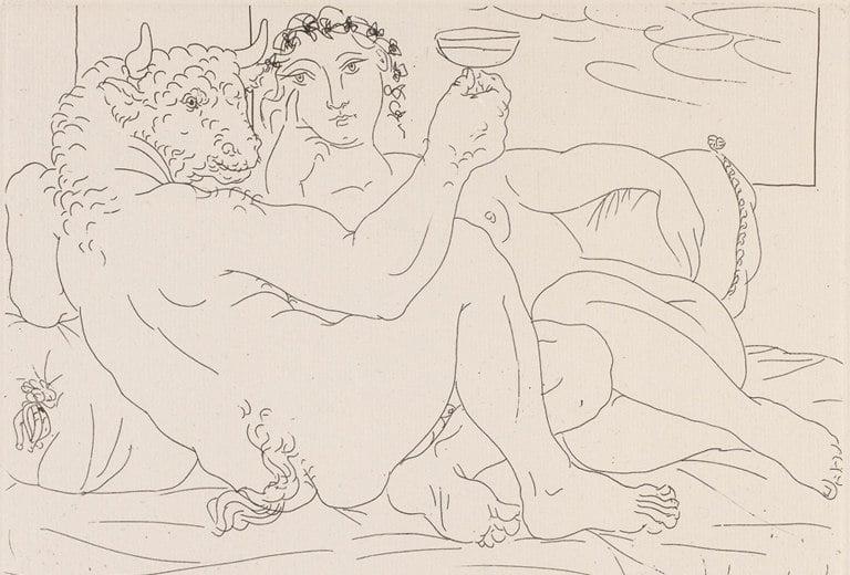 Los grabados de Picasso llegan al Centro Niemeyer