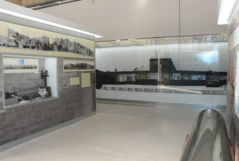 Barcos históricos y submarinos en el Museo Naval de Cartagena