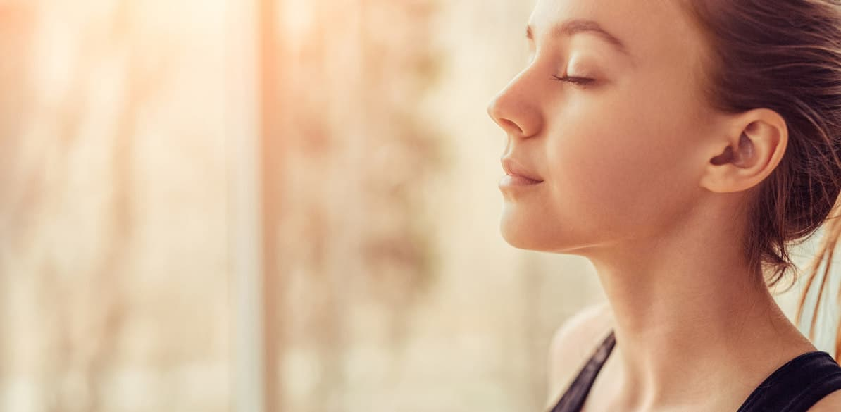 In the event of an anxiety attack: breathing and relaxation