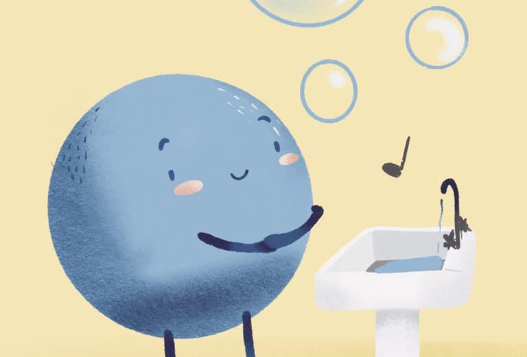 Canción «Tus manos debes lavar»
