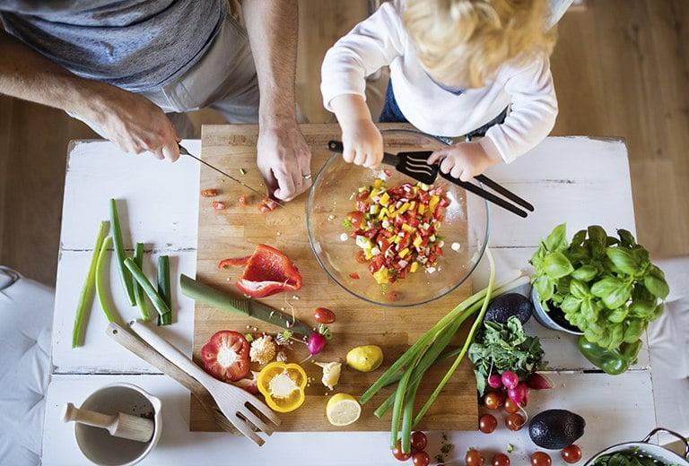Recetas para comer mejor y compartir tiempo en familia