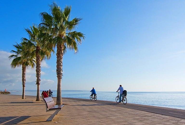 Verano en la costa de Mallorca