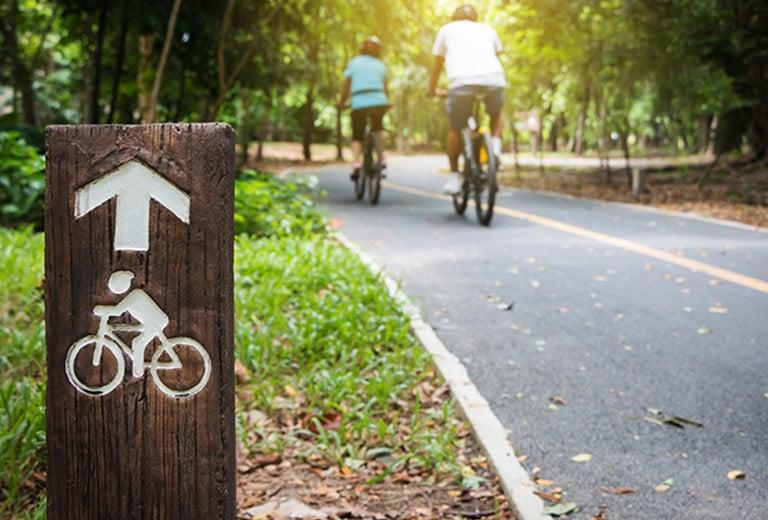 De turismo por el carril bici
