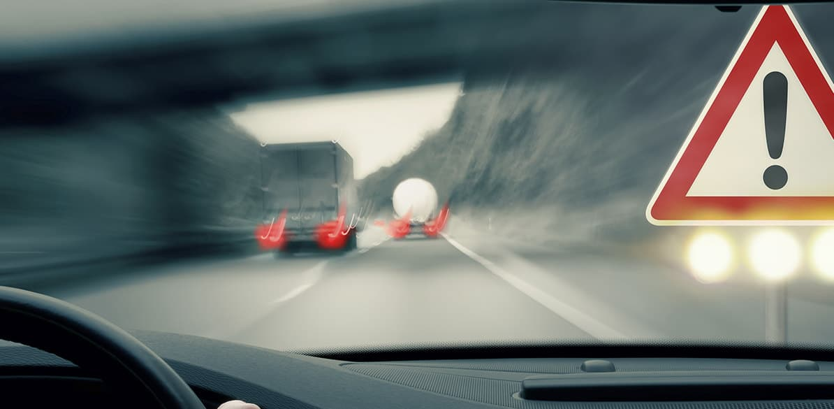 Evita accidentes de tráfico cumpliendo las normas de circulación