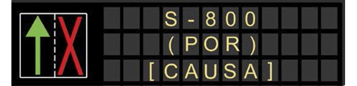 Paneles de mensaje variable de la capacidad de la vía
