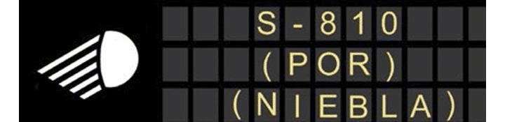 Paneles de mensaje variable de las condiciones de visibilidad