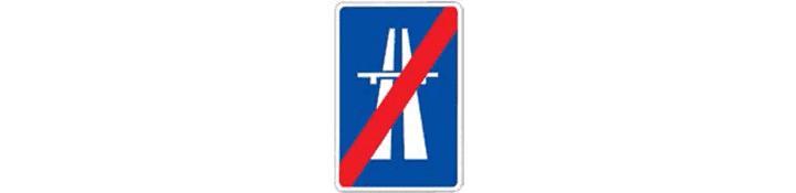 Fin de autopista