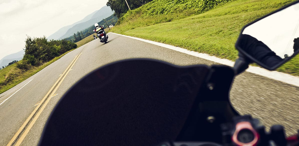 Do you know what is the safety distance you have to keep with your motorcycle?
