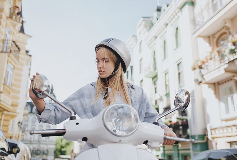 Moto en ciudad: Cuidado con los imprevistos