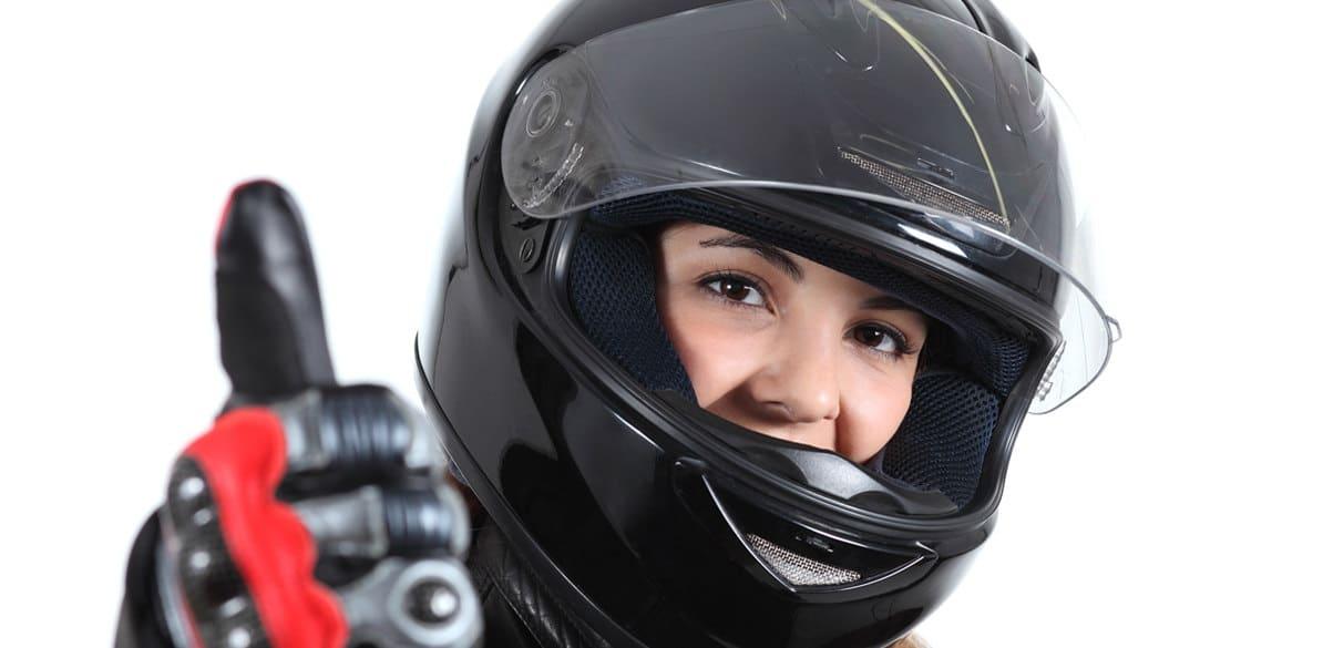 El casco integral es el más seguro