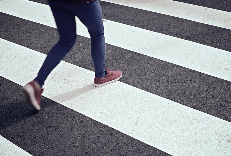 Peatones y Seguridad Vial