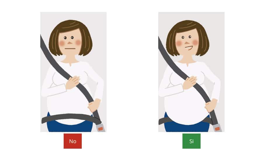 Consejos para la conductora embarazada