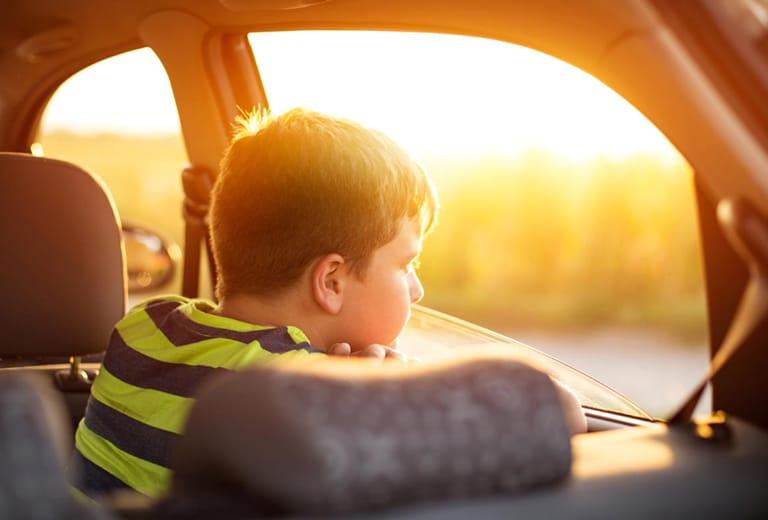 La conducción con niños. Educación vial infantil