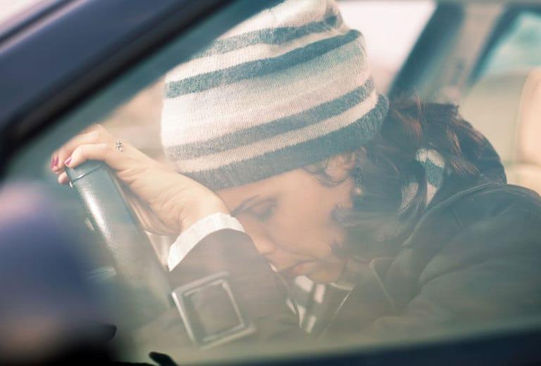 Apnea del sueño y conducción