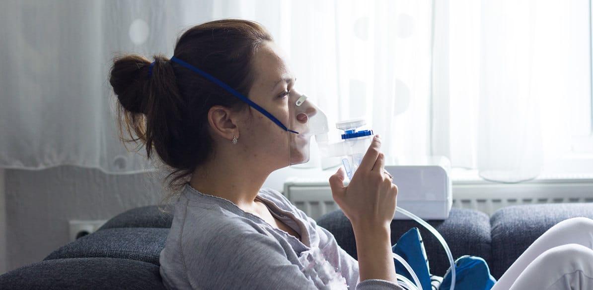 La neumonía es la infección del parénquima pulmonar