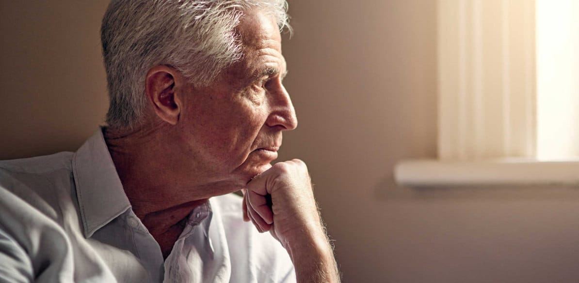 Alzheimer's disease is due to a degenerative process, associated with significant neuronal loss