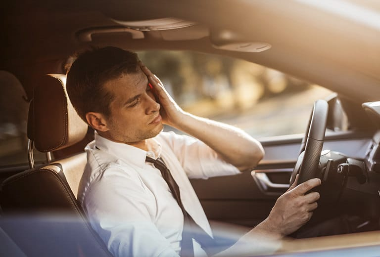 Influence of headache and craniofacial neuralgia on driving