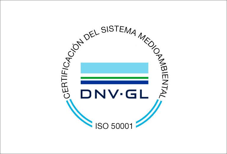 Certificación del Sistema Medioambiental ISO 50001