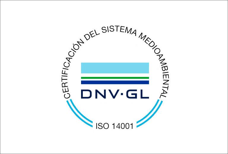 Certificación del Sistema Medioambiental ISO 14001